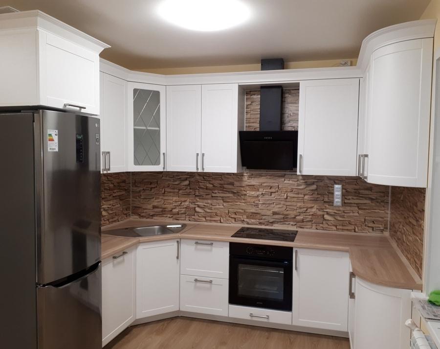 Белый кухонный гарнитур-Кухня «Модель 494»-фото2
