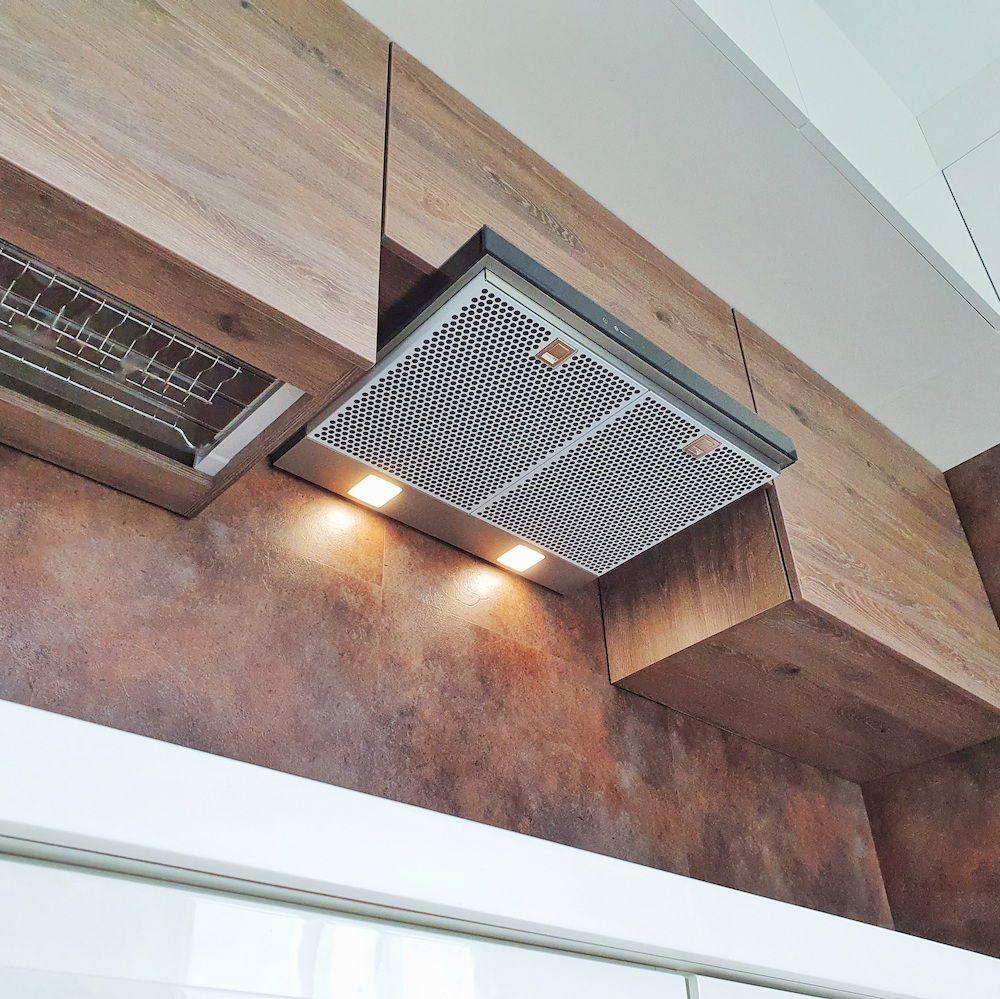 Белый кухонный гарнитур-Кухня МДФ в эмали «Модель 533»-фото7