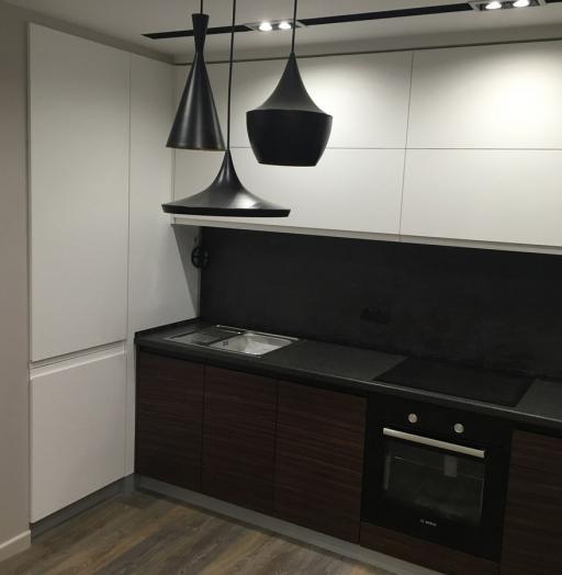 -Кухня МДФ в эмали «Модель 457»-фото24