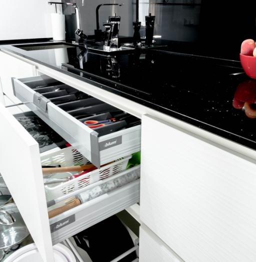 -Кухня из пластика «Модель 343»-фото25