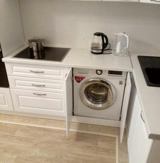 -Кухня МДФ в эмали «Модель 166»-фото24